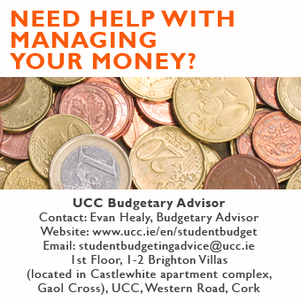 budget advice for UCC students