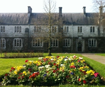 UCC campus, spring, flowers