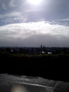 View from the Music Building, Cork