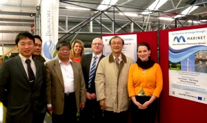 The Taiwanese visitors with Beaufort Research's Judy Rea, Infrastructure Manager, and Dr. Ray Alcorn, Executive Director. Joined by Hannah from the IEO.