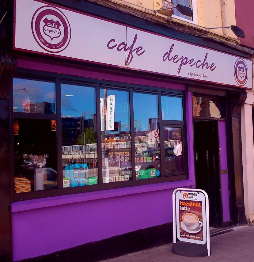 Cafe Depeche, Western Road